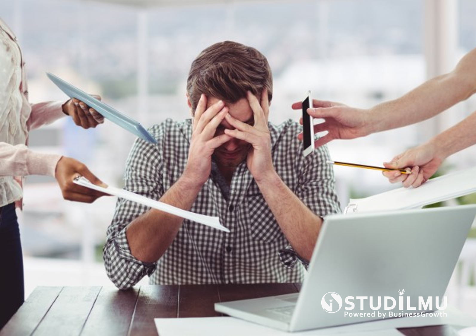 STUDILMU Career Advice - 7 Cara Mengatasi Stres Kerja