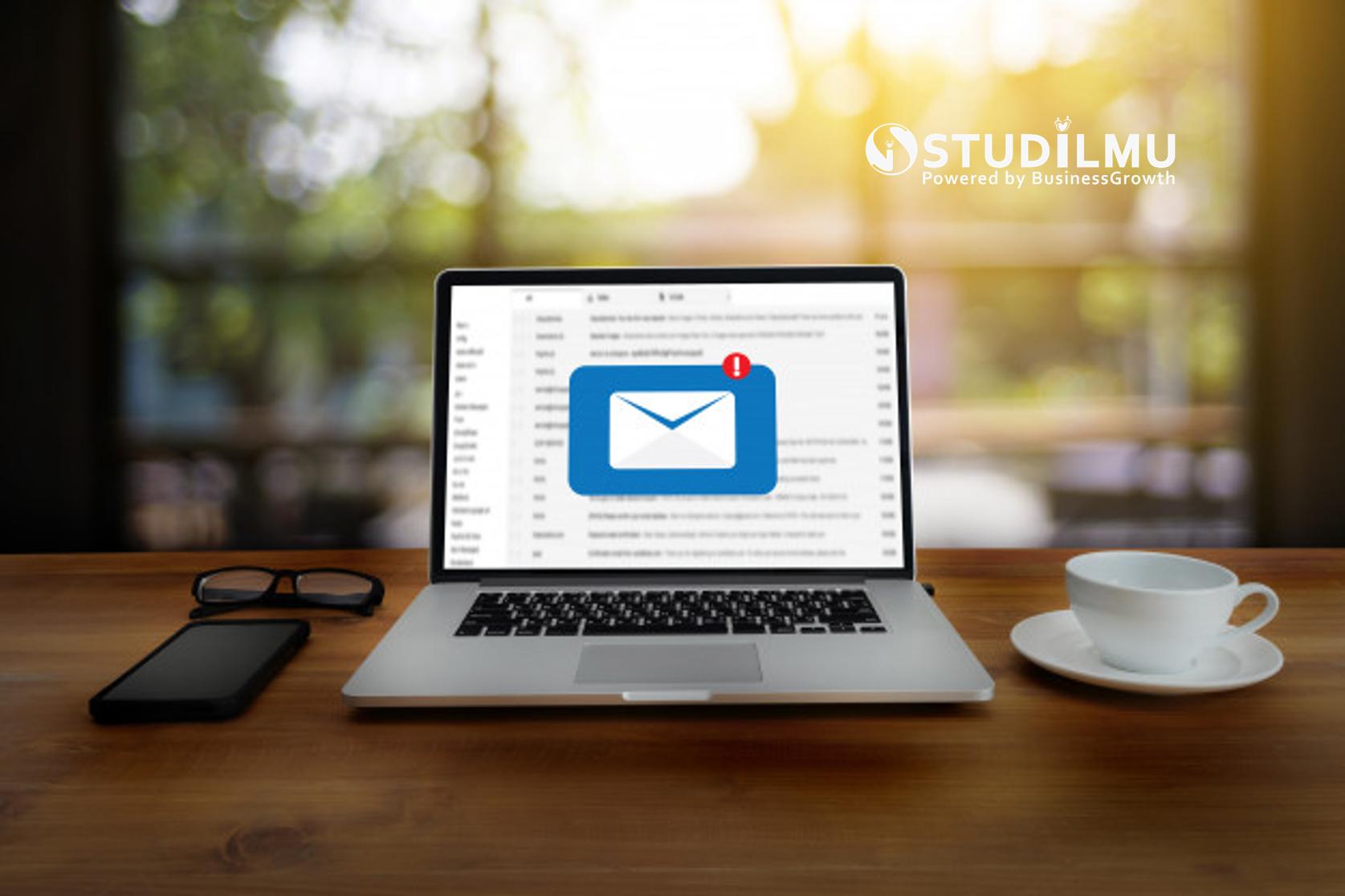 STUDILMU Career Advice - 8 Cara Tetap Fokus Kerja tanpa Terganggu dengan Email
