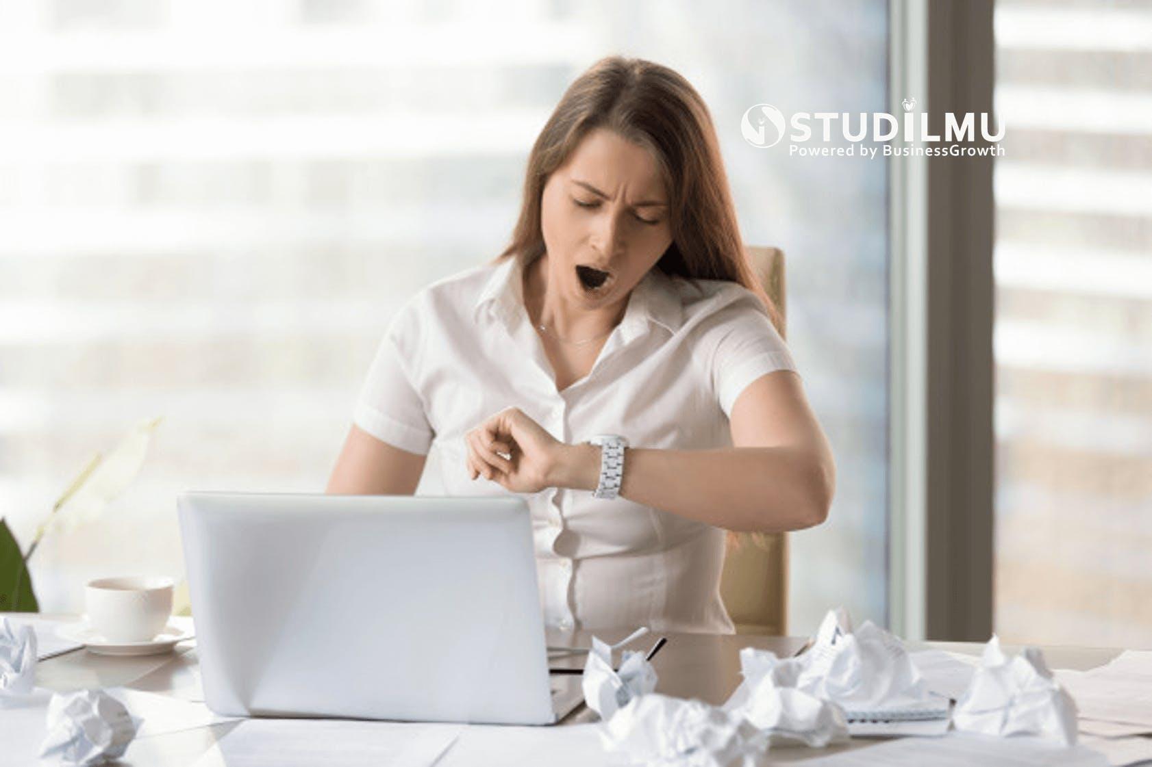STUDILMU Career Advice - 5 Cara Menghilangkan Rasa Malas dan Menjadi Lebih Produktif