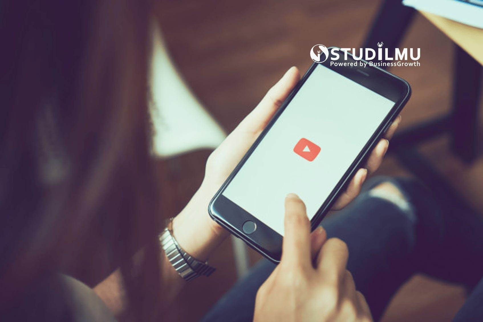 STUDILMU Career Advice - 9 Strategi Pemasaran melalui Aplikasi YouTube