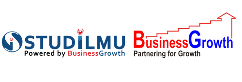 Logo STUDILMU dan Logo BusinessGrowth