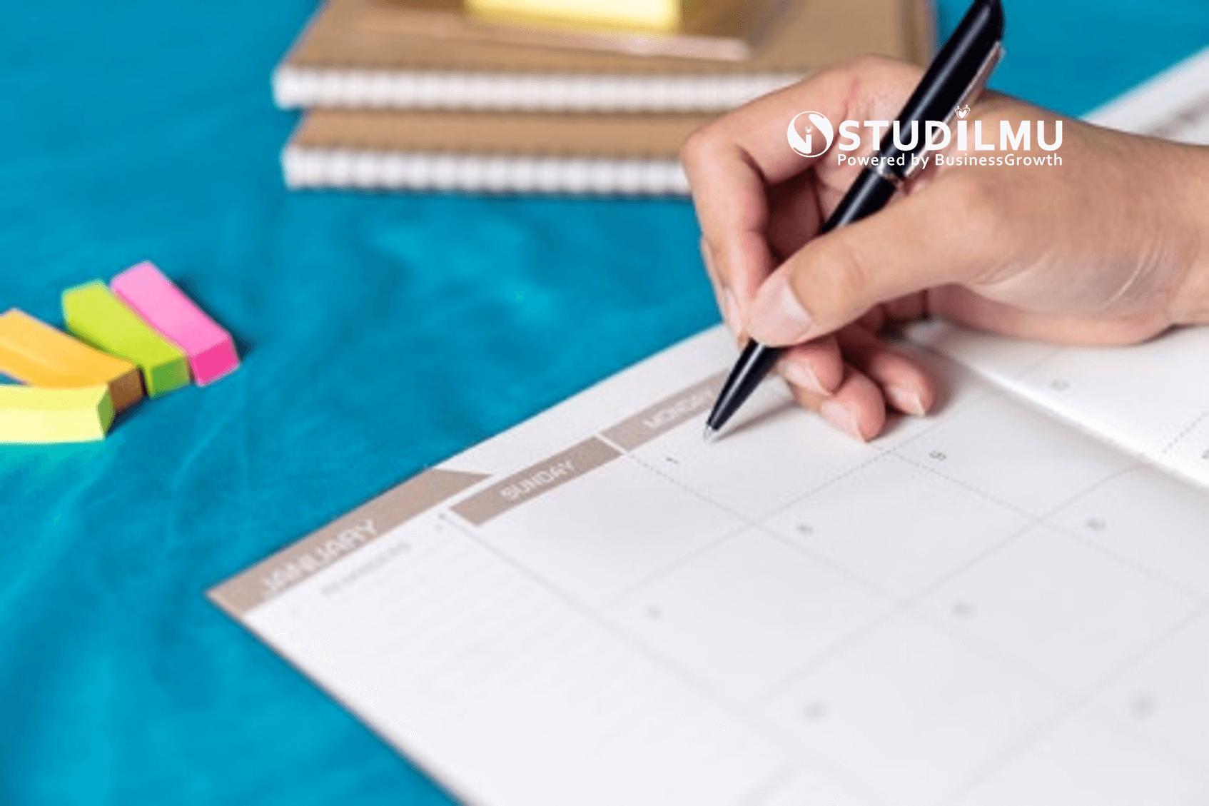 STUDILMU Career Advice - 15 Tips Manajemen Waktu yang Baik untuk Meraih Tujuan Hidup